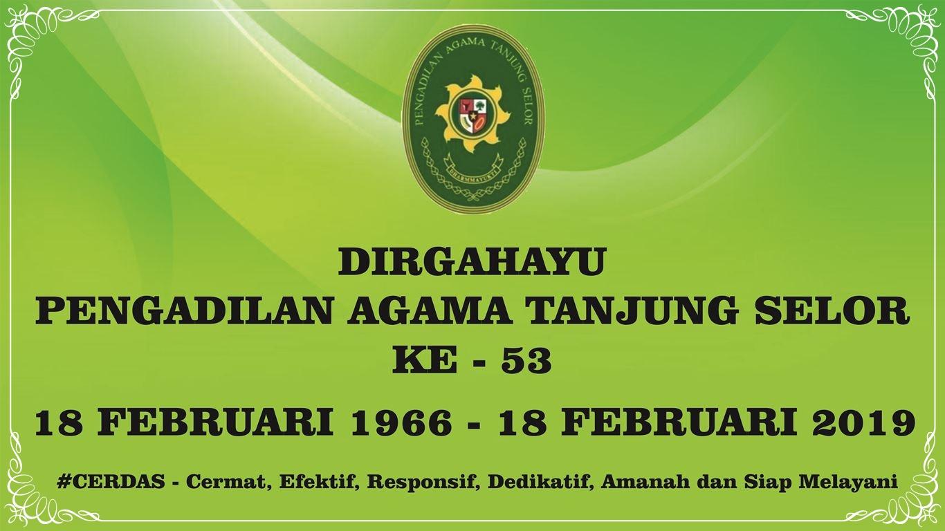 Dirgahayu Pengadilan Agama Tanjung Selor
